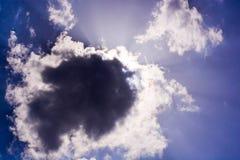 ciemna chmura Zdjęcie Royalty Free
