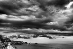 ciemna chmura Obrazy Stock