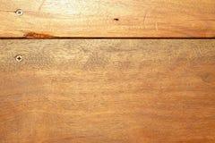 Ciemna ciężka drewniana tekstura z naturalnymi wzorami z śrubowym tło horyzontem Zdjęcia Stock