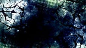 Ciemna cyfrowa abstrakcjonistyczna tapeta ilustracji