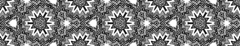 Ciemna czarny i biały Bezszwowa Rabatowa ślimacznica Geome ilustracji