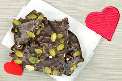 Ciemna czekolady barkentyna obrazy stock