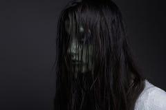 Ciemna demon dziewczyna Zdjęcia Royalty Free