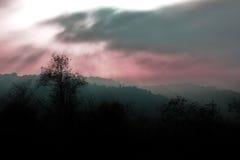 Ciemna fantazi sceneria Obraz Royalty Free