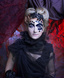 ciemna lady Zdjęcie Royalty Free
