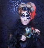 ciemna lady Fotografia Stock