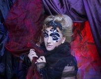 ciemna lady Obraz Royalty Free