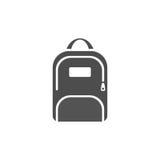Ciemna plecak ikona Obraz Royalty Free