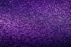 Ciemna purpurowa tkanina Obraz Stock