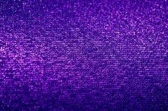 Ciemna purpurowa tkanina Zdjęcia Royalty Free