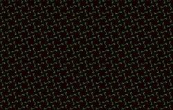 Ciemna tekstura rhombus lub bezszwowy kwadrata tło, czerwień wałkoni się zielonego błękitnego popielatego czerń tonującego wzór Zdjęcia Royalty Free
