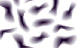 Ciemne łaty różni kształty na lekkim tle Obraz Stock