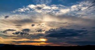 Ciemne burz chmury Zdjęcia Royalty Free