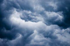 ciemne chmury Obrazy Stock