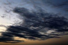 ciemne chmury Obrazy Royalty Free