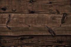 Ciemne drewniane deski jako tło Zdjęcia Royalty Free