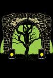 ciemne drzewo Obrazy Stock