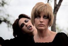 ciemne lasowe kobiety Zdjęcie Royalty Free
