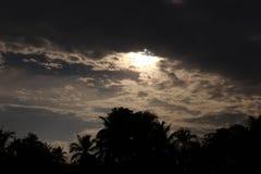 ciemne niebo zdjęcie royalty free