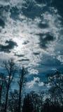 ciemne niebo Obrazy Stock
