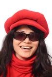 ciemne okulary azjatykci dziewczyn Zdjęcia Stock