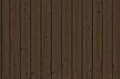 Ciemne pionowo drewniane deski Fotografia Stock