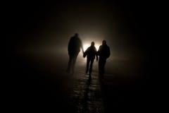 ciemne postacie Zdjęcie Royalty Free