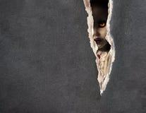 Ciemne serie - straszna lala ilustracji
