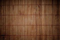 Ciemnego brązu bambusa tło Fotografia Stock