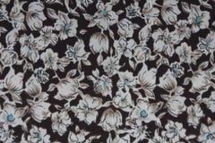 Ciemnego brązu tła bawełniana tkanina Obraz Royalty Free
