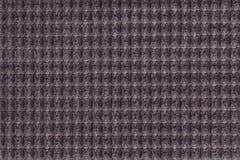 Ciemnego brązu tło od miękkiego wełnistego tkaniny zakończenia up Tekstura tkaniny makro- Obraz Stock