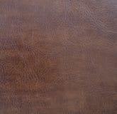 Ciemnego brązu tekstury rzemienny zbliżenie zdjęcia royalty free
