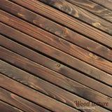 Ciemnego brązu drewniana abstrakcjonistyczna tekstura Obrazy Stock