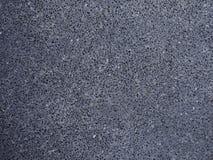 Ciemnego czerni asfaltu drogowa powierzchnia zdjęcie royalty free