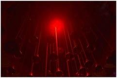 Ciemnego czerni czerwień jest formą czerwony kolor zdjęcia stock