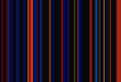 Ciemnego czerni miasta nocy lampasów bezszwowy wzór tło abstrakcyjna ilustracja Eleganccy nowożytni trendów kolory Obrazy Royalty Free