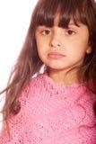 ciemnej dziewczyny z włosami mała zaciszność zdjęcia stock