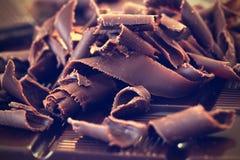 Ciemni czekoladowi golenia Zdjęcia Royalty Free