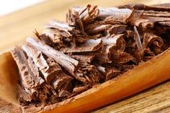 Ciemni czekoladowi golenia Obraz Royalty Free