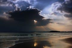 Ciemni horyzonty Zdjęcia Royalty Free