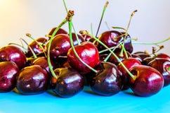 Ciemni redcherries Fotografia Royalty Free