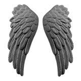 Ciemni tynków skrzydła Zdjęcie Royalty Free