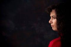 ciemniuteńka kobieta obraz stock