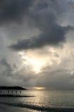 Ciemniuteńki światło Zdjęcie Stock