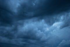 Ciemniuteńki niebo Obrazy Stock