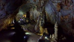 Ciemność i lekcy punkty mistyczny krasu cavern zbiory