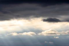 ciemności światła Obraz Royalty Free