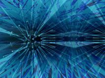 ciemno niebieski dyfuzji Fotografia Royalty Free