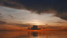 Ciemnopąsowy wschód słońca 01 zbiory wideo