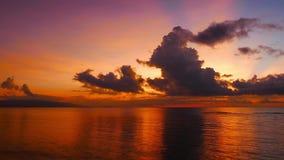 Ciemnopąsowy wschodu słońca czasu upływ zdjęcie wideo